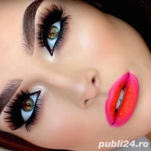 Servicii Profesionale de Make-up  &  Extensii GENE 1-3 D, 4-7 D, 7-12D  NUMAI  cu Produse Profi - imagine 1