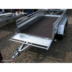 Remorca auto 750 kg punte tandem, dim 245x125cm, RAR Efectuat -  7525T - imagine 3