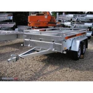 Remorca auto 750 kg punte tandem, dim 245x125cm, RAR Efectuat -  7525T - imagine 4