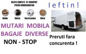 Transport marfa-Mutari mobila-Bagaje -Relocari-Ieftin ! Debarasari ! Ridic moloz ! 0741 909144 - imagine 2