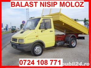 0724 108 771 Nisip Balast Ridic Moloz - imagine 1