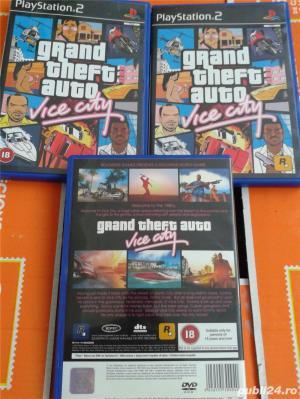 vand jocuri PS2,playstation 2,originale,GTA vice city,nou - imagine 4