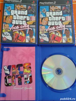 vand jocuri PS2,playstation 2,originale,GTA vice city,nou - imagine 3