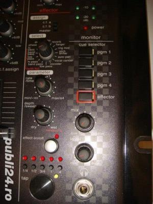 Mixer profesional nou, VESTAX VMX 004FXu USB - imagine 3