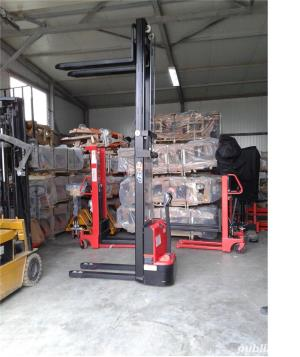 transpalet deplasare si ridicare electrica 1200 kg la 3 metri - imagine 4