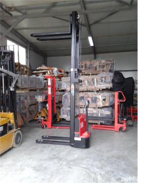 transpalet deplasare si ridicare electrica 1200 kg la 3 metri - imagine 3