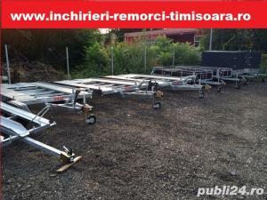 Inchiriez remorci auto platforme auto 75 ron/zi  +vinieta ungaria gratis  - imagine 2