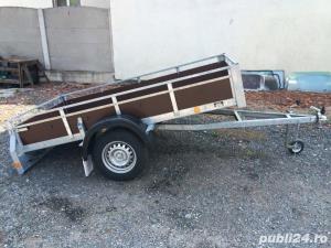 Inchiriez remorci auto platforme auto 75 ron/zi  +vinieta ungaria gratis  - imagine 7