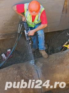 Tai sparg beton.Decupare prin taiere pana la 80 cm(gauri hota burghiu 100 lei) - imagine 4