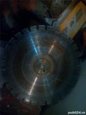 Tai sparg beton.Decupare prin taiere pana la 80 cm(gauri hota burghiu 100 lei) - imagine 9