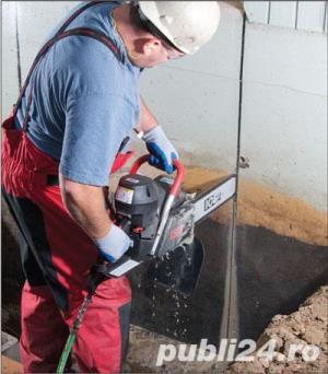Tai sparg beton.Decupare prin taiere pana la 80 cm(gauri hota burghiu 100 lei) - imagine 10