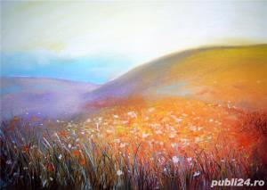 Tablouri cu peisaje flori - imagine 1