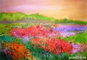 Tablouri cu peisaje flori - imagine 4