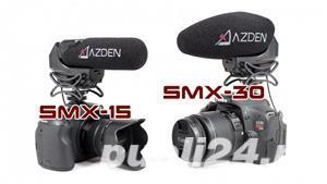 Azden SMX-30 SMX-15 the Ultimate Video Microphones - imagine 1