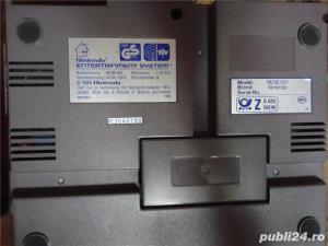 vand consola joc vintage, NES,PAL,nintendo entertainment system,cu 6 jocuri de top,4 manete - imagine 7
