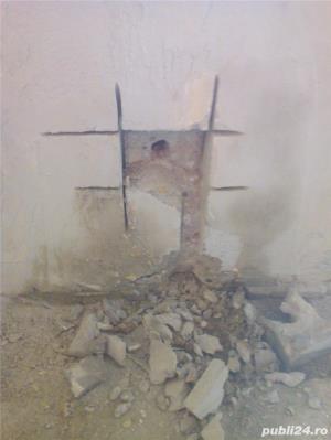 Tai sparg beton.Decupare prin taiere pana la 80 cm(gauri hota burghiu 100 lei) - imagine 13