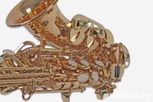 Saxafon Sopran curbat Karl Glaser Saxophone Si b nou Germania Sax - imagine 6