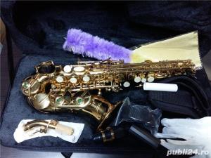 Saxafon Sopran curbat Karl Glaser Saxophone Si b nou Germania Sax - imagine 1