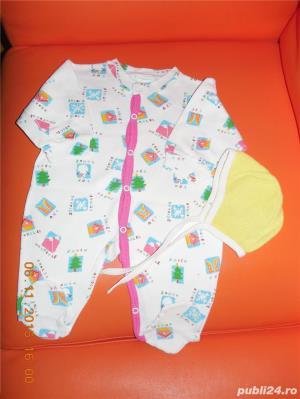 OFERTA pachet 5 (haine bebe 0-6 luni) - imagine 3