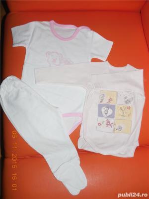 OFERTA pachet 5 (haine bebe 0-6 luni) - imagine 6