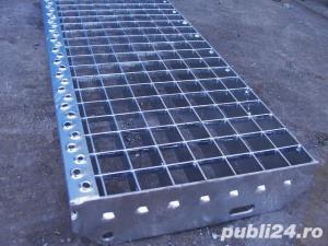 Trepte metalice presate zincate de pe stoc sau la comanda - imagine 3