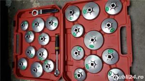 Trusa capace filtru ulei  profesional 23 piese - imagine 1