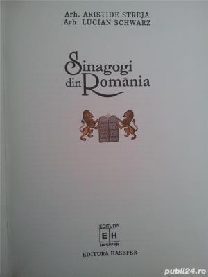 Sinagogi din Romania.(Aristide Streja, Lucian Schwrtz). - imagine 2