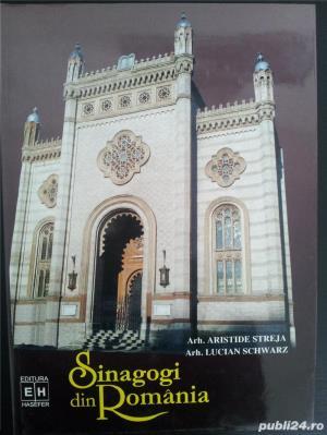 Sinagogi din Romania.(Aristide Streja, Lucian Schwrtz). - imagine 1