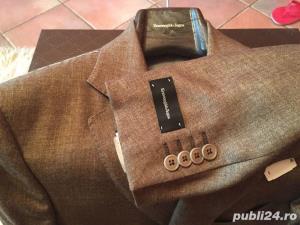 Sacou Ermenegildo Zegna private collection original cashmere 100% - imagine 2