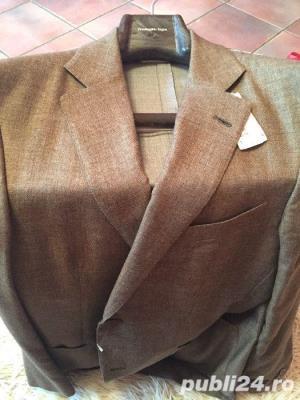Sacou Ermenegildo Zegna private collection original cashmere 100% - imagine 3