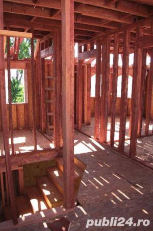 Structuri din lemn case , foisoare, confectii din lemn - imagine 3