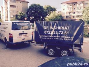 Inchiriez remorci auto platforme auto 75 ron/zi  +vinieta ungaria gratis  - imagine 6