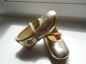 PANTOFI aurii pt. fetița ta - imagine 5