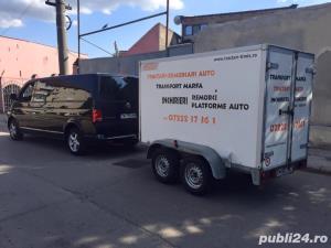 Inchiriez remorci auto platforme auto 75 ron/zi  +vinieta ungaria gratis  - imagine 5