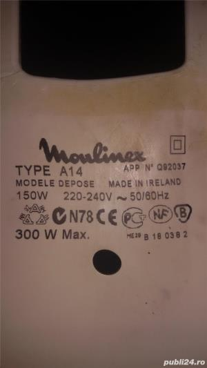 Vand roata dintata masina tocat electrca moulinex - imagine 2