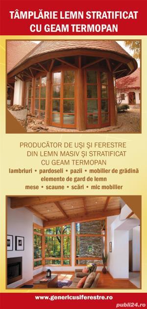 Tamplarie lemn stratificat - imagine 4