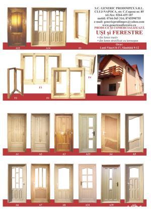 Tamplarie lemn stratificat - imagine 2