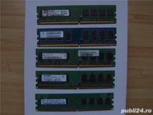 Okazia! Vand 1Gb, DDR2, Samsung,Kingston Crucial - Low Profil - imagine 1