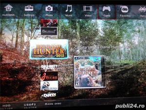hdd extern 500 GB,35 jocuri ps3 ,GTA 5,FIFA 19,NFS,GOD OF WAR - imagine 4