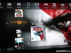 hdd extern 500 GB,35 jocuri ps3 ,GTA 5,FIFA 19,NFS,GOD OF WAR - imagine 3