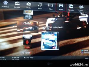 hdd extern 500 GB,35 jocuri ps3 ,GTA 5,FIFA 19,NFS,GOD OF WAR - imagine 10