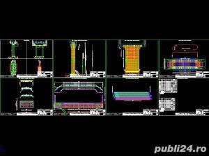 Desene AutoCAD, 2D, 3D, Animatii 3D, Servicii CAD pentru topografie, proiectare poduri - imagine 9