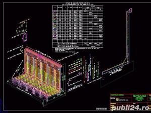 Desene AutoCAD, 2D, 3D, Animatii 3D, Servicii CAD pentru topografie, proiectare poduri - imagine 10