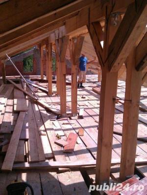 execut lucrari la domiciliu in constructii acoperisuri tencuieli zidarie etc. - imagine 1