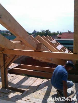 execut lucrari la domiciliu in constructii acoperisuri tencuieli zidarie etc. - imagine 3
