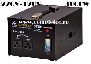 Transformator / Convertor tensiune 220V-110V 3000W, gama PREMIUM Proflex - imagine 4
