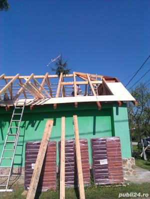 execut lucrari la domiciliu in constructii acoperisuri tencuieli zidarie etc. - imagine 4