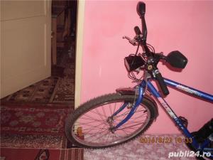 Bicicleta MTB cu 21 de viteze + diverse accesorii - imagine 5