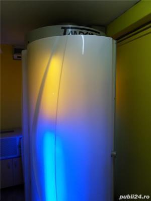 VAND aparat de bronzat profesional (solar) cu aer conditionat. - imagine 3