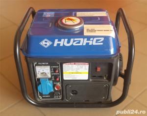 Generator curent Huahe 750 pe benzina - imagine 3